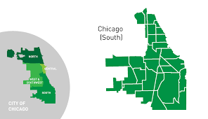 Public Transit Chicago Map by Chicago South Side Active Transportation Alliance
