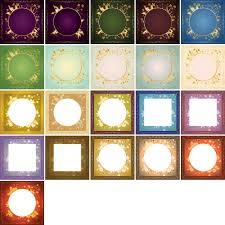 gold frame design vector dragonartz designs