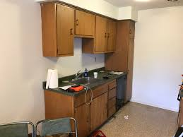 How To Install Kitchen Cabinets by Bad Kitchen Cabinet Install In Condo Need Help Improving