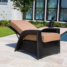 Wicker Patio Providence Resin Wicker Patio Reclining Chair By Lakeview Outdoor