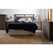 Maple Wood Bedroom Furniture South Shore Versa 6 Drawer Gray Maple Dresser 9041010 The Home Depot