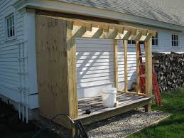 Plans For Building A Wood Storage Shed by Building A Firewood Shed A Concord Carpenter