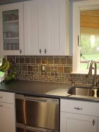 Blue Backsplash Kitchen Kitchen Fantastic Kitchen Backsplash Ideas White Cabinetshome