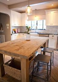 Farmhouse Kitchens Designs Best 25 Farmhouse Kitchen Island Ideas On Pinterest Kitchen