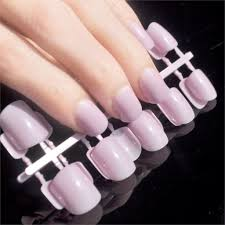 aliexpress com buy fashion candy color flat fake nail light
