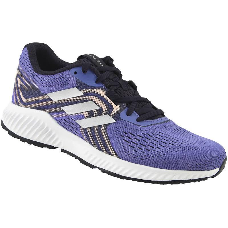 Adidas Aerobounce Sneakers AQ0540 Lilac/Silver 6.0 US