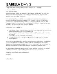 What To Put In A Cover Letter For A Cv Leading Professional Bookkeeper Cover Letter Examples U0026 Resources
