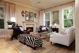 zebra ottoman coffee table interior home design