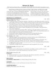 Description resume sales representative