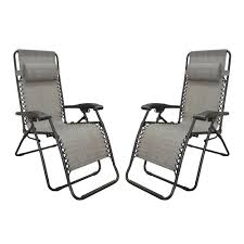 Replacement Parts For Zero Gravity Chairs Caravan Sports Infinity Zero Gravity Chair Grey 2 Pack