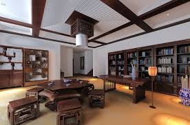 CHINESE HOUSE INTERIORS Classic Chinese Style Ceo Office - Interior design chinese style