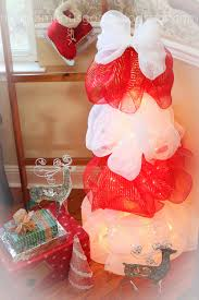 loom knitting by this moment is good lighted mesh christmas tree