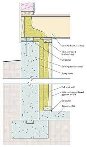 Insulating Basement Concrete Walls by Insulating Poured Concrete Basement Walls Http Dreamtree Us