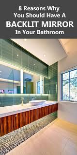 25 best ideas about backlit bathroom mirror on pinterest