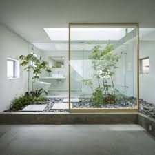 Japanese House Design by 30 Green Ideas For Modern Bathroom Decorating With Plants