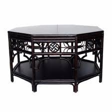 indochine octagonal coffee table dixie u0026 grace
