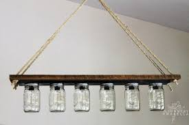 Hanging Bathroom Vanities by Remodelaholic Upcycle A Vanity Light Strip To A Hanging Pendant