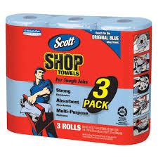 Home Depot Store Hours Houston Tx Scott Shop Towels 3 Rolls Pack 75143 The Home Depot