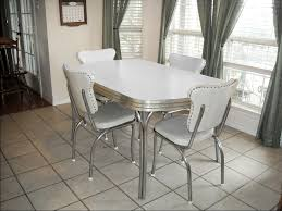 Metal Dining Room Chair Kitchen Awesome Retro Kitchen Table And Chairs Sets With Retro