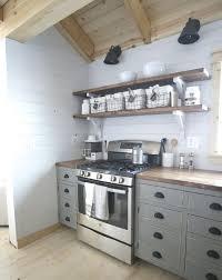 Kitchen Shelf Decorating Ideas Kitchen Shelving Ideas Metal Digital Microwave Nickel Single