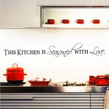 Kitchen Cabinet Quote Aliexpress Com Buy Removable Letter Kitchen With Love Wall
