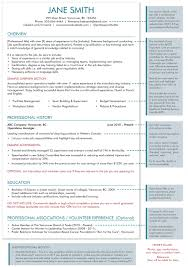 resume format canada resume template the headhunters recruitment
