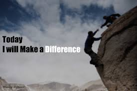 Make a difference with simple efforts