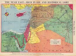 Jordan Country Map Transjordan Mandate