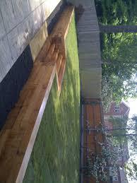 Stone Cladding For Garden Walls by Patios Paths Oak Sleeper Walls Brick Walls Garden Design
