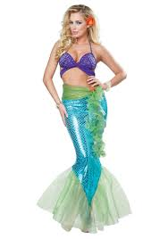 King Neptune Halloween Costume Women U0027s Mythic Mermaid Costume