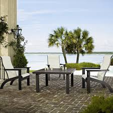 Outdoor Seating by Adirondack 4 Piece Mgp Sling Outdoor Seating Set By Telescope