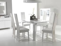 Black And White Dining Room Chairs Dining Room Fancy Decoration Home With White Dining Room Set