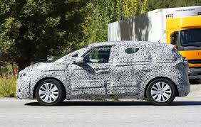All Renault Models Spyshots 2017 Renault Scenic Production Model Seen For The First