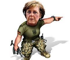 Merkel soldato