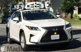 lexus bahrain jobs new apple suvs with expansive autonomous driving lidar setup