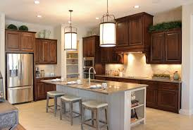 burrows cabinets u0027 kitchen in knotty alder w custom vent hood