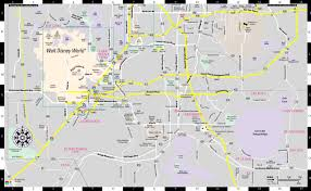 Map Of Lakeland Florida by Streetwise Orlando Map Laminated City Center Street Map Of