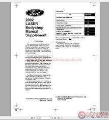 ford laser 2002 workshop manual auto repair manual forum heavy