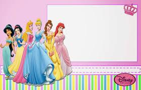 Free Printable Birthday Invitation Cards With Photo Disney Princess Birthday Invitations U2013 Gangcraft Net