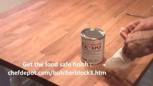 how to refinish wood table top youtube