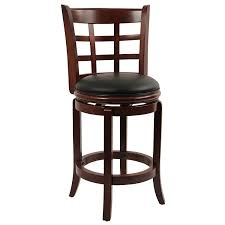 Patio Furniture Bar Height Dining Set - amazon com boraam 41224 kyoto counter height swivel stool 24