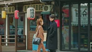 The Lonely Shining Goblin  Episode      Dramabeans Korean drama recaps Shin goes to the chicken shop only to find a sign that they     re hiring part timers  but as he leaves  he passes Sunny  He sees her future  where she tells