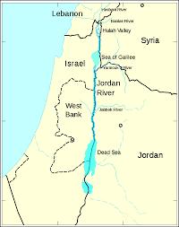 Jordan Country Map Baptized In The Jordan Restoring A Holy River Origins Current