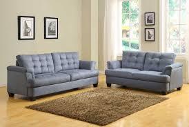 Grey Sofa And Loveseat Set St Charles 9736 Sofa Homelegance Blue Grey Fabric W Options