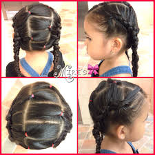 two braid hair style for little girls hairstyles for little