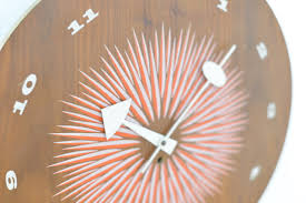 mid century wall clock by george nelson for howard miller for sale