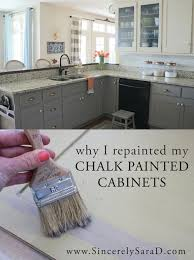 Brands Of Kitchen Cabinets by Why I Repainted My Chalk Painted Cabinets Chalk Paint Cabinets