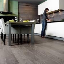 Uniclic Laminate Flooring Lpu1286 Grey Vintage Oak Planks Beautiful Laminate Wood