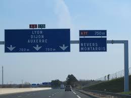 A6 autoroute