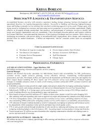 Resume Examples Retail Manager by Logistics Supervisor Resume Samples Free Resume Example And
